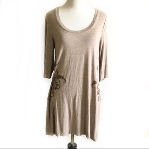 Soft surroundings scoop neck tunic shirt